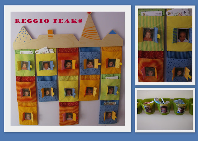 photo of: Reggio Emilia Toddler Communication Board for Parents