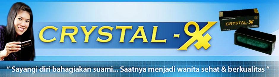 Distributor Crystal X Asli PT Natural Nusantara Yogyakarta