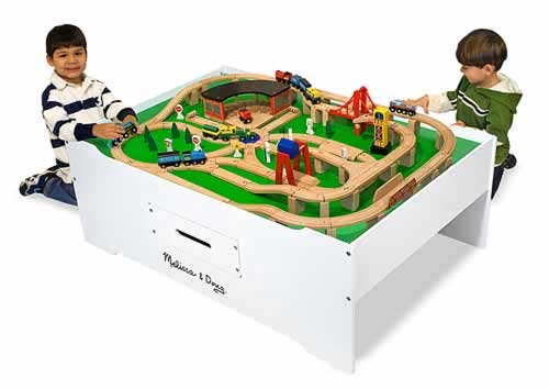 Kids train table for Table th ou tr