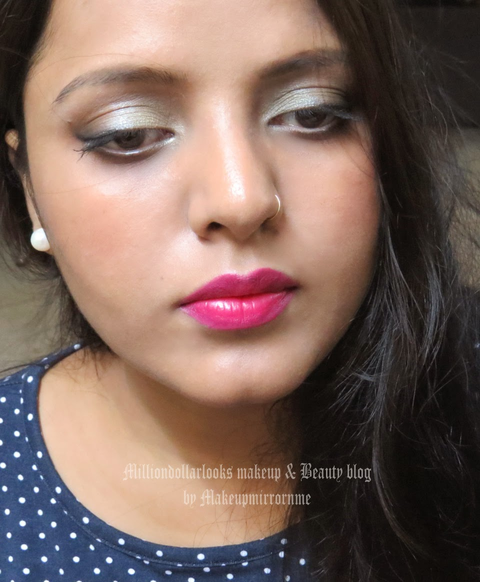 Saturday Night Movie Date Makeup | FOTD, Date makeup tutorial, How to look gorgeous on date, Indian makeup and beauty blog, Indian beauty blog, Indian makeup blog, Top beauty blogs in India, Soft smoky brown eye, Maybelline cheeky glow blush, Essence makeup, FOTD
