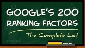 200 Yếu Tố Xếp Hạng Trang Web Trên Google