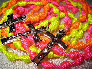 Retro Neon Rosaries