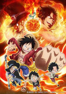 One Piece Episode of Sabo -3-Kyōdai no Kizuna Kiseki no Saikai to Uketsugareru Ishi- Tayang 22 Agustus 2015