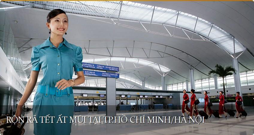Vietnam Airlines - Rộn rã Tết Ất Mùi tại TP. Hồ Chí Minh - Hà Nội