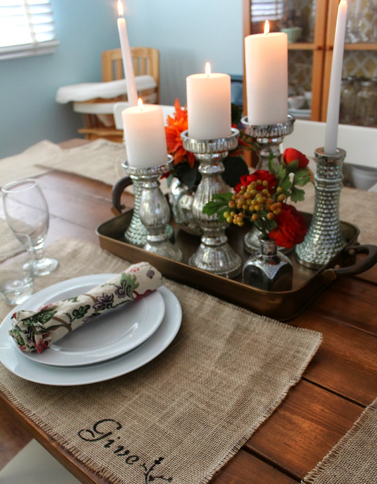Decorating Ideas > Give Thanks Place Mats A JoAnn Fabric Celebrate The  ~ 092318_Joanns Thanksgiving Decorations