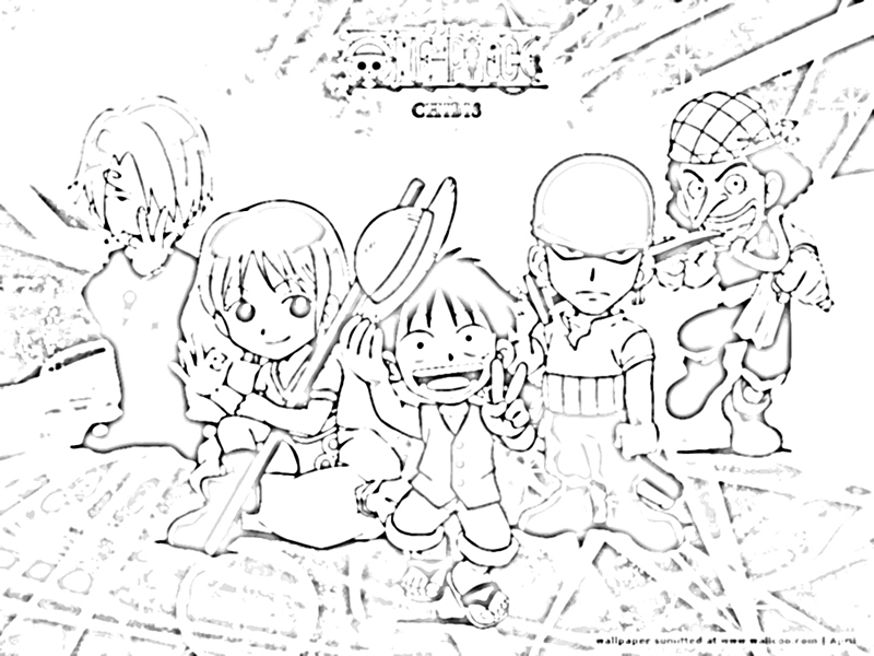 One Piece Coloring Pages http://www.coloring-pagez.com/2012/02/gambar-mewarnai-one-piece-coloring.html