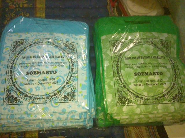 Samodra Store Tas Berkat Kotak Pegangan Bambu Pesanan Untuk