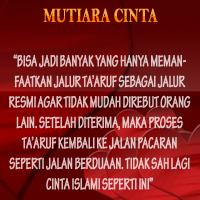 Bukankah cinta ialah kesucian dan kesucian termasuk dalam unsur islami 3 Kiat Meraih Cinta Islami Yang Fleksibel