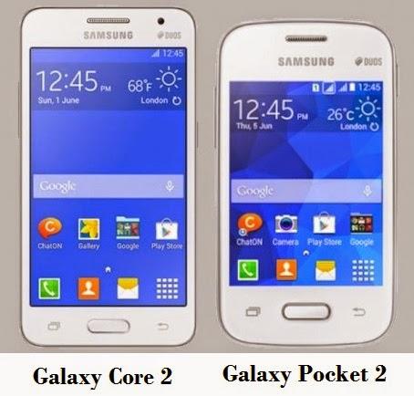 Samsung Galaxy Core 2 Dan Galaxy Pocket 2