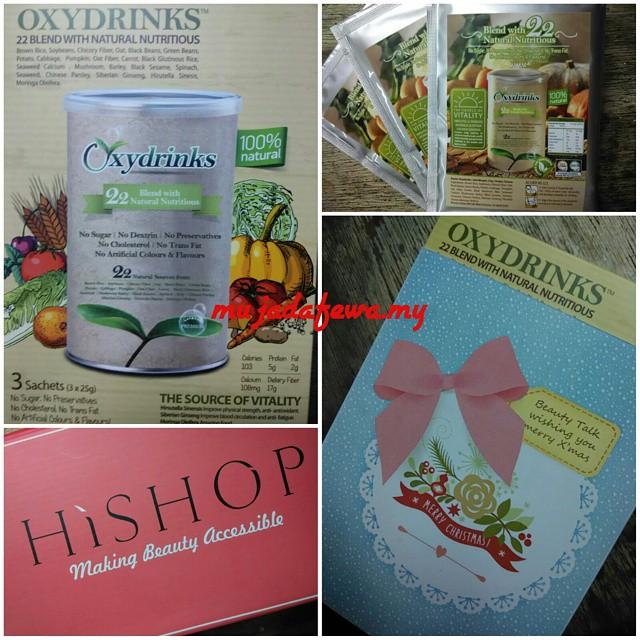 oxydrinks, minuman kesihatan, makanan semulajadi, hishop, hishopmy
