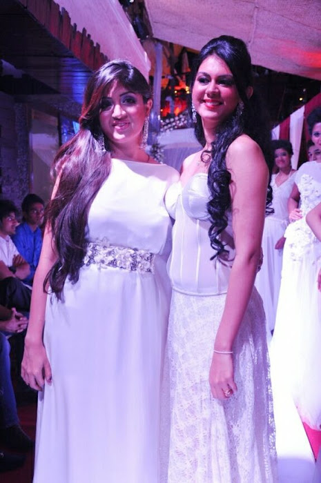 poonam kaur rwalk in white dress at sheesha sky launch hot images