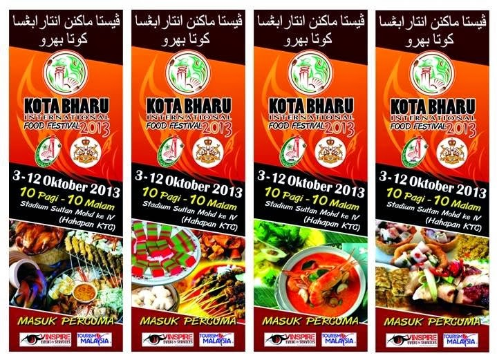 makanan, festival makanan di kota bharu, pesta makanan, festival thai, food festival, makanan best, makanan sedap,