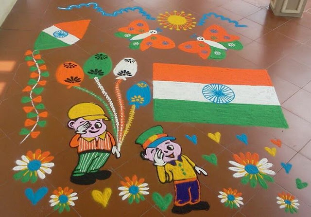 Republic-Day-Rangoli-Design-Images-Pictures-and-Wallpapers-for-Competition-Cover-Design-3