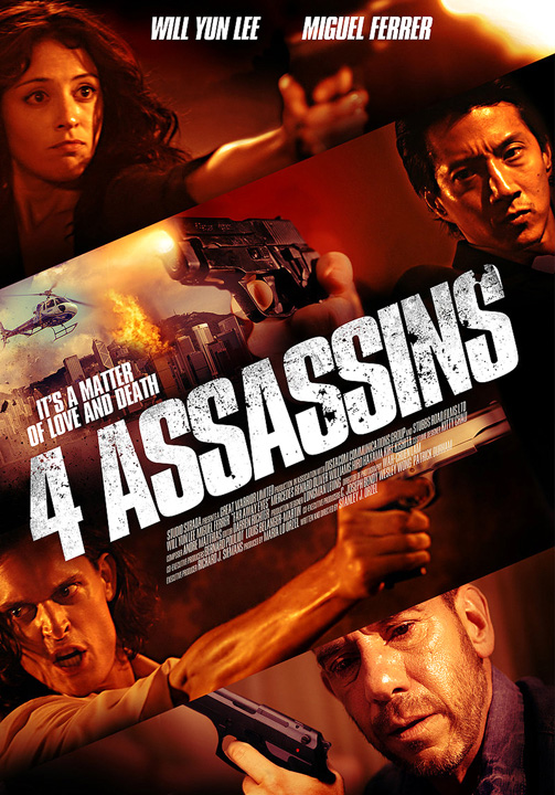 Four Assassins 2013 Full Movie 720p BluRay 700mb HQ