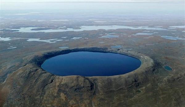 Cráter Pingualuit, Canadá