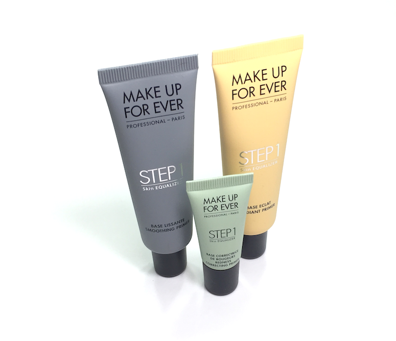Make Up For Ever Step 1 Skin Equalizer - Redness Correcting Primer, Radiant Primer Yellow, Smoothing Primer