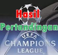 Hasil Pertandingan Liga Champions 27 November 2013