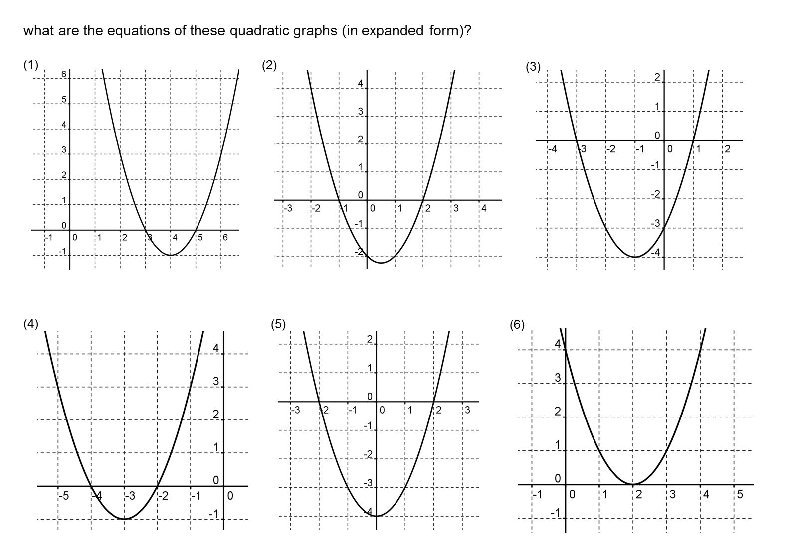MEDIAN Don Steward mathematics teaching: quadratics from roots ...