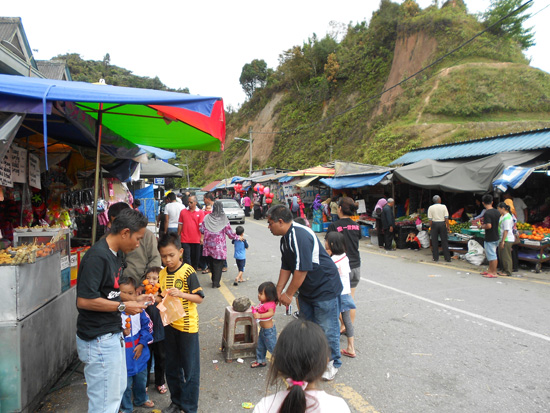 Kea Farm Market, Cameron Highlands