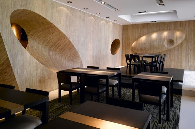 Home and garden traditional japanese restaurant interior for Japanese interior design