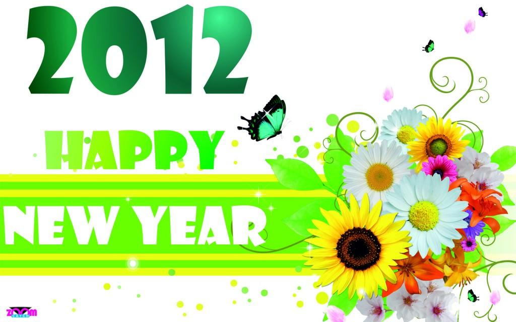 Happy New Year 2012 Wallpaper HD