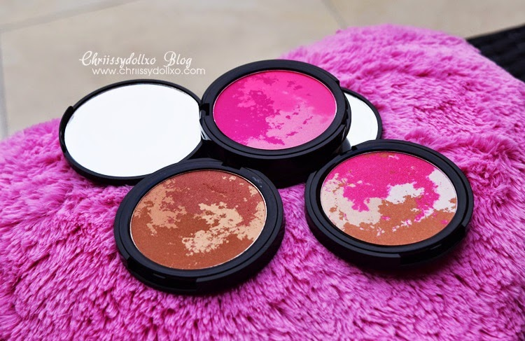 Australis Paparazzi Perfect High Definition Blush (Shoot To Thrill, Flash It, Poser) - Review / Swatches / Demo