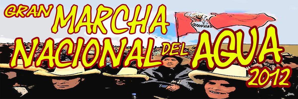 Marcha Nacional del Agua