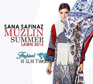 Sana Safinaz Muzlin Summer Collection 2015