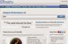 GTMetrix: otro servicio online que mide la velocidad con que se carga una web
