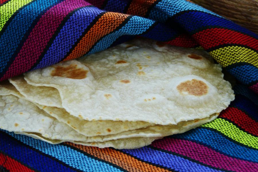 tortillas de harina de trigo paso a paso