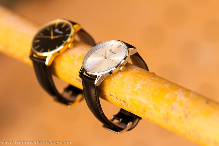Donde comprar relojes redondos con correa de piel