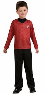 Star Trek Movie (Red) Shirt Child Costume
