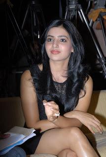 Samantha Gallery at YVM PM [Andhrula Music]