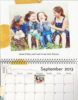 Tiny Prints calendar