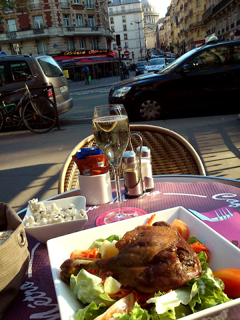 Champagne anka Paris