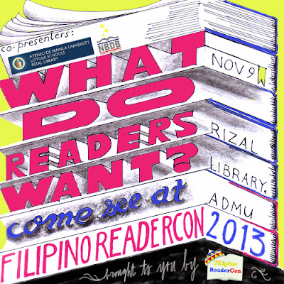 Filipino ReaderCon 2013 badge