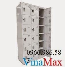 Tủ sắt văn phòng, tủ locker 15 ngăn, tủ locker, tủ đựng đồ cá nhân, tủ sắt giá rẻ