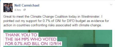 Neil Carmichael MP, environment, climate change, conservatives