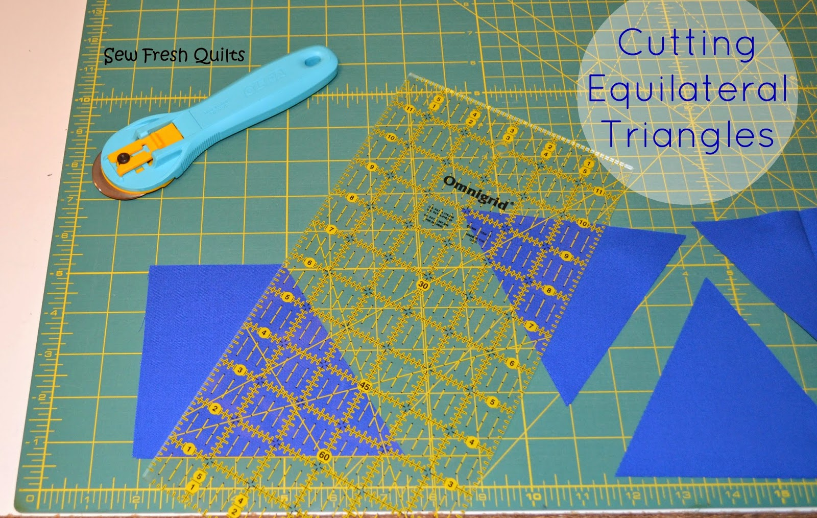 Cutting Equilateral Triangles tutorial