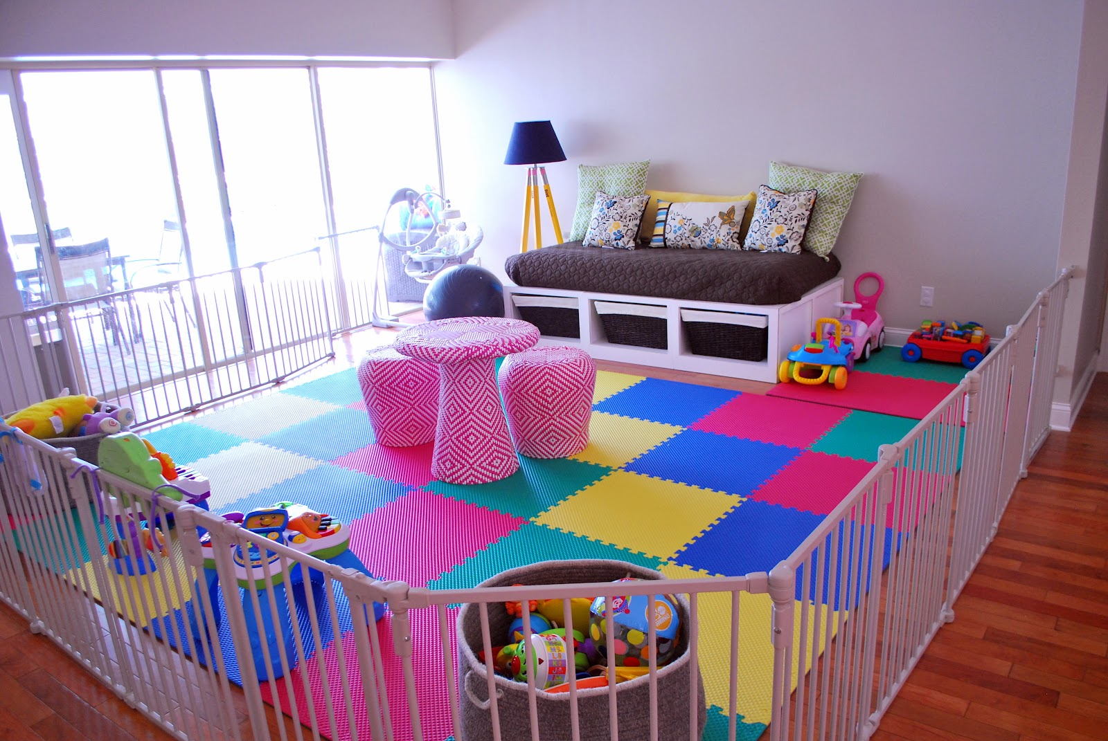 Fenced In Play Area For Baby | Boys Therapy Room | Pinterest | Play Areas,  Plays And Babies