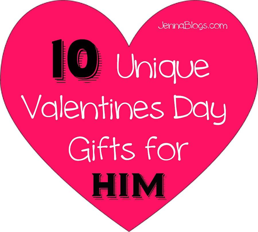 Jenna blogs 10 unique valentines day gift ideas for him for Good gifts for him on valentines day