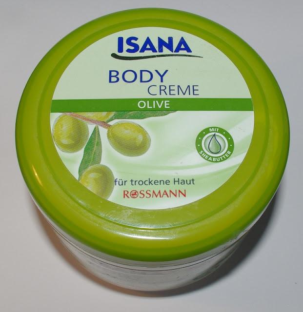 Isana, krem do ciała z oliwą z oliwek