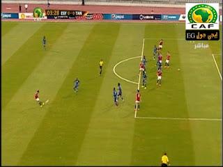 ملخص مباراة مصر و تنزانيا فى تصفيات كأس امم افريقيا 2017 || الشوط الاول