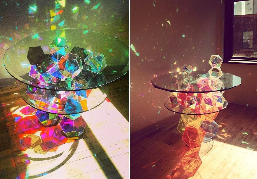 las mesas mas extravagantes