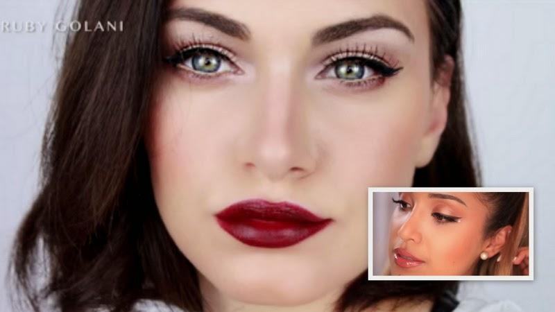Celebrity's Makeup Tutorial: Khloe Kardashian And Ariana Grande