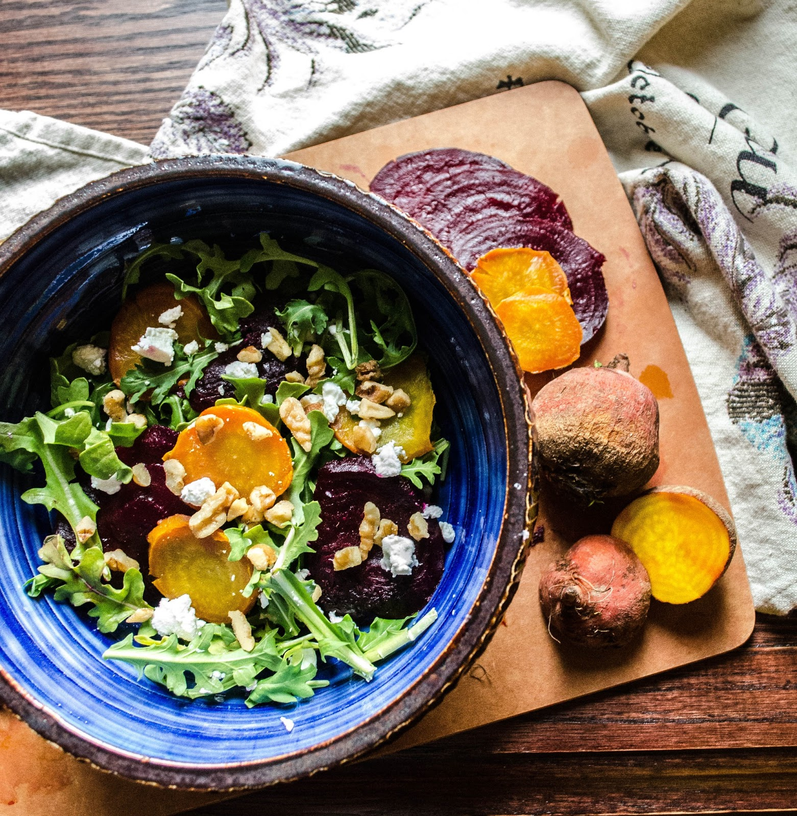 Ça C'est Bon . . .: Roasted Beet Salad with Goat Cheese