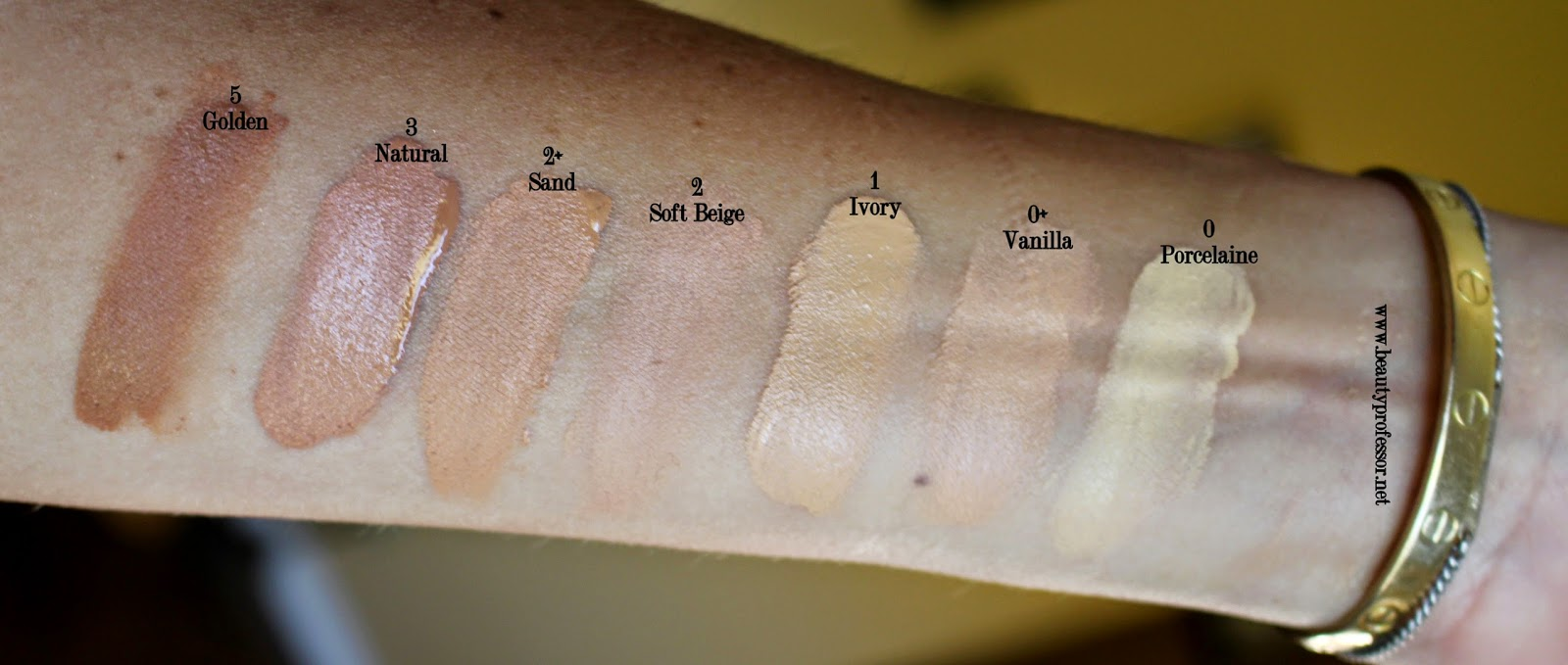 sisley phyto teint expert foundation swatches