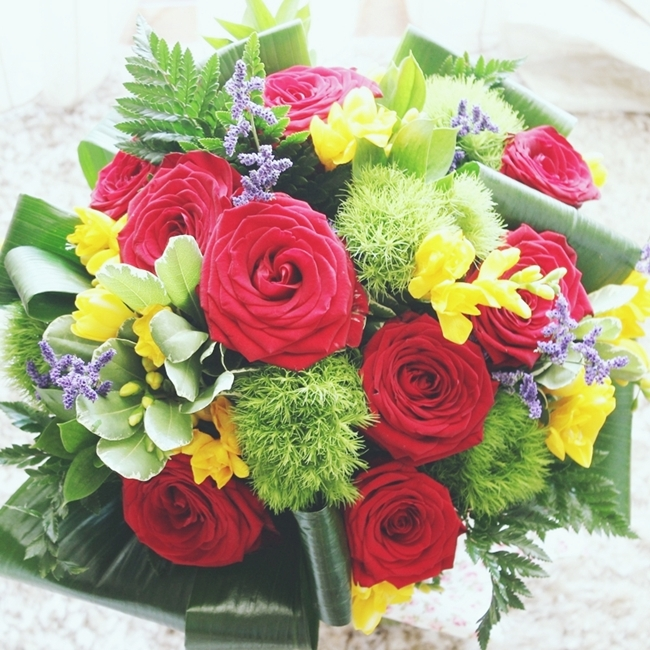 One of the prettiest flower bouquets!!! | GLAM FAB HAPPY