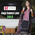 Anaya Embroidered Summer Lawn Collection 2015 By Al-Zohaib