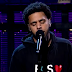 "J. Cole performs ""Be Free"" on Letterman"